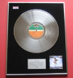 AC/DC - Blow Up Your Video PLATINUM LP presentation DISC